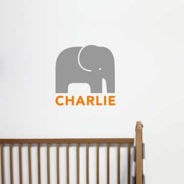 Grey / Orange Small